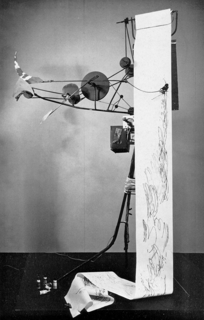 Painting machine_Tinguely 1959