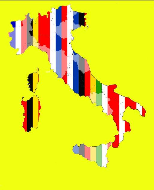 Italian files map