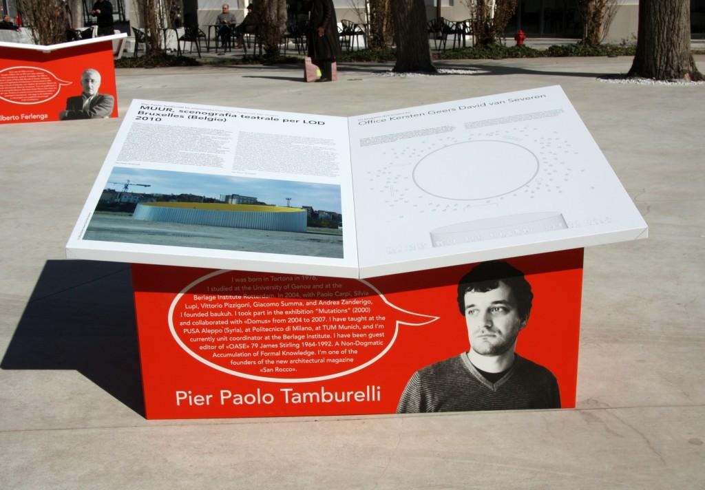 l'architettura che ti piace© Tamburelli/Peter Barber Architects