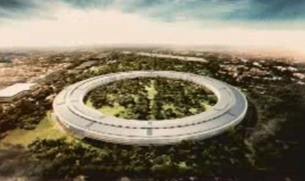 Apple new campus in Cupertino