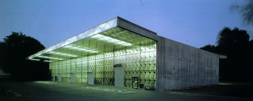 H&dM, Fabbrica e magazzino Ricola, Mulhouse 1992-1993