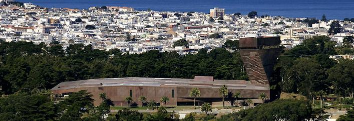 H&dM, Nuovo Museo de Young, San Francisco 2000-2005