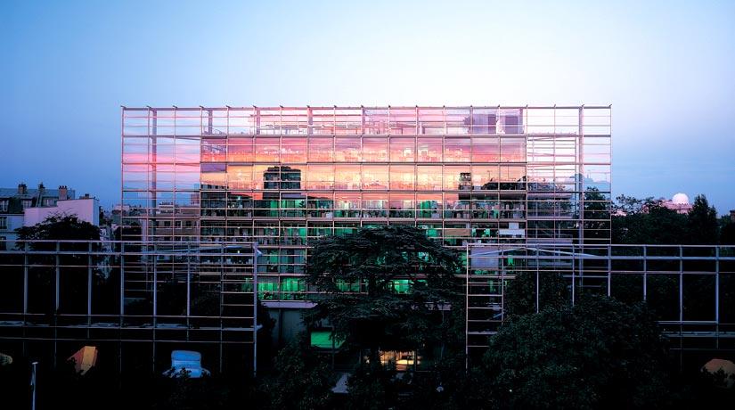 Jean Nouvel, Fondazione Cartier, Parigi 1991-1995