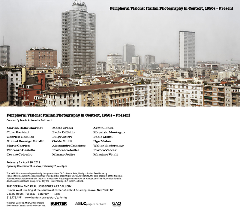 Peripheral vision: Italian Photography in Context