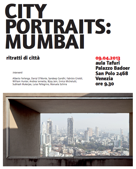 City Portraits: Mumbai