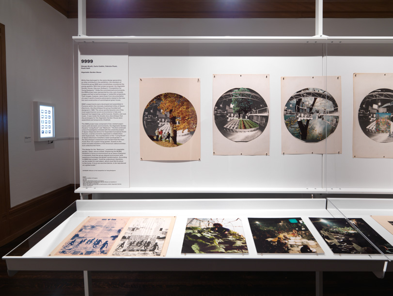 """View of """"Environments and Counter Environments. 'Italy: The New Domestic Landscape,' MoMA, 1972,"""" 2013, Graham Foundation, Chicago. Photo Tom Van Eynde."""