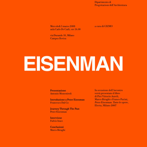 PETER EISENMAN | JOURNEY THROUGH THE PAST