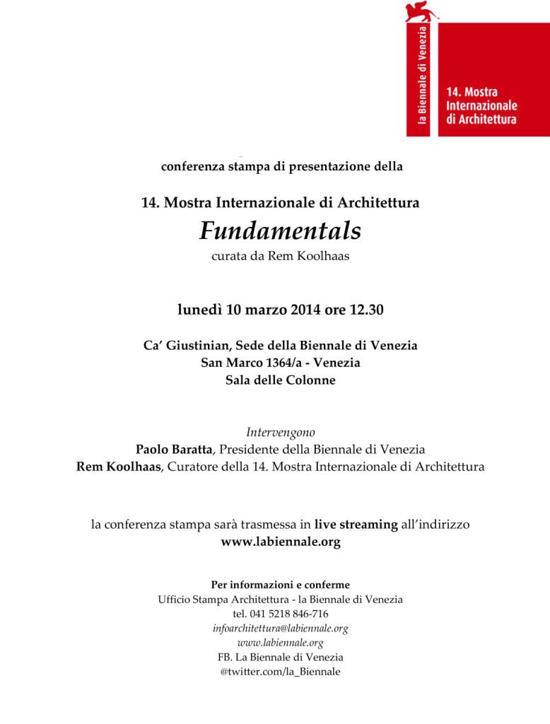 Invito conferenza 14. MIA_Venezia