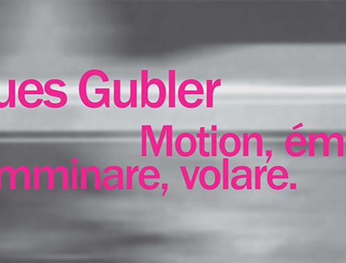 JACQUES GUBLER | presentazione del volume a Parma