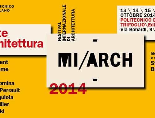 MI-ARCH Amate l'architettura