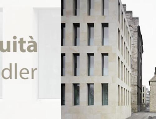 MAX DUDLER, Continuità - al Politecnico di Milano