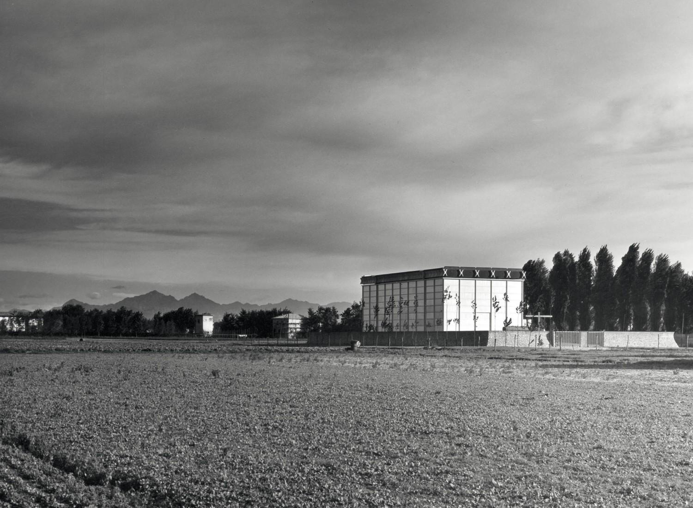Foto Giorgio Casali, 1958, Università iuav di Venezia - Archivio Proget ti, Fondo Giorgio Casali
