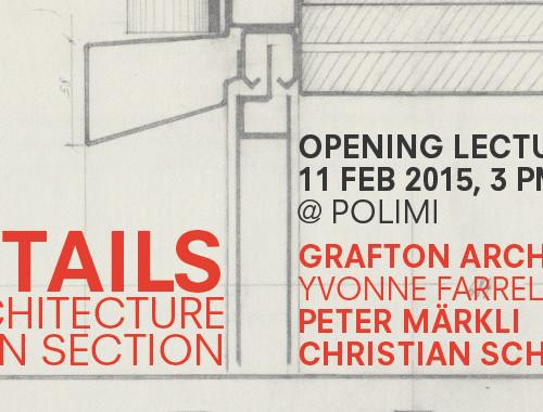 DETAILS - Opening Lectures in Milan