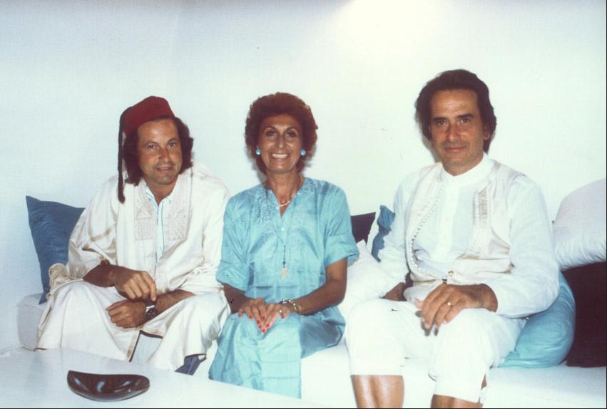 Panseca Anna Craxi e Paolo Portoghesi