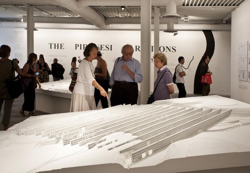 A Field of Walls, progetto di Dogma (Pier Vittorio Aureli e Martino Tattara) in The Piranesi Variations Biennale di Architettura di Venezia 2012