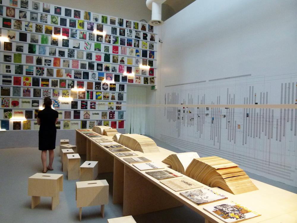 Architectural Magazines: playgrounds and battle grounds di Steve Parnell,  Biennale di Architettura di Venezia 2012