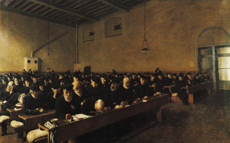 angelo-morbelli-giorni-ultimi-1883-milano-galleria-darte-moderna