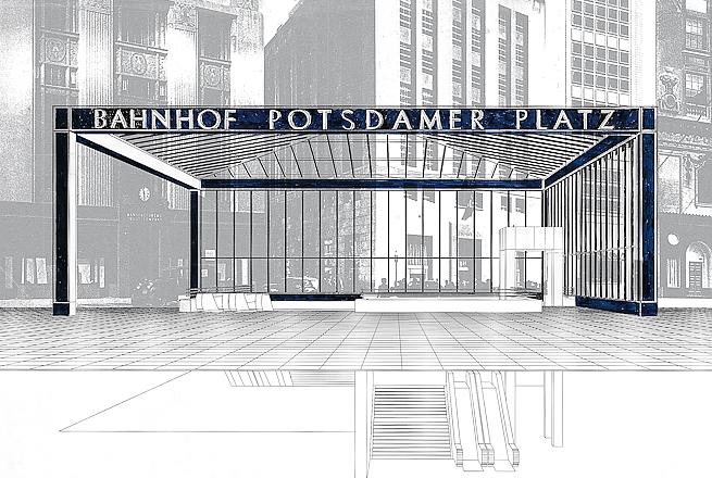 12. Hilmer & Sattler und Albrecht-Banhof Potsdamer Platz
