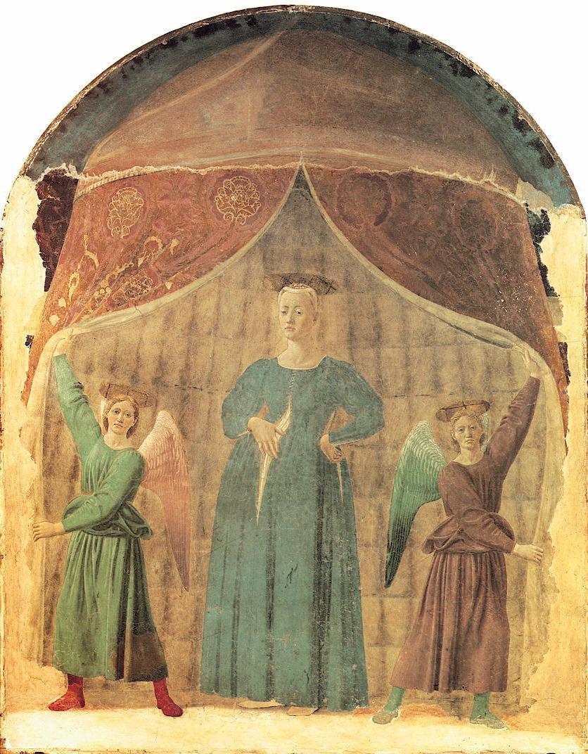 Piero della Francesca, Madonna del parto, Monterchi