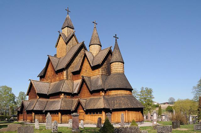 Chiesa Heddal-Norvegia