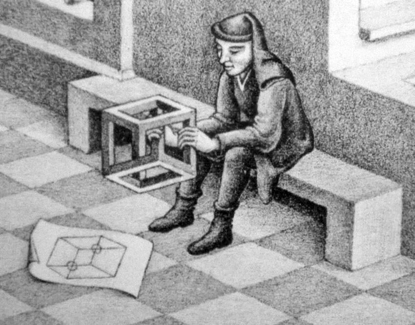 Escher-Cubo impossibile