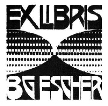 Escher-Ex-libris