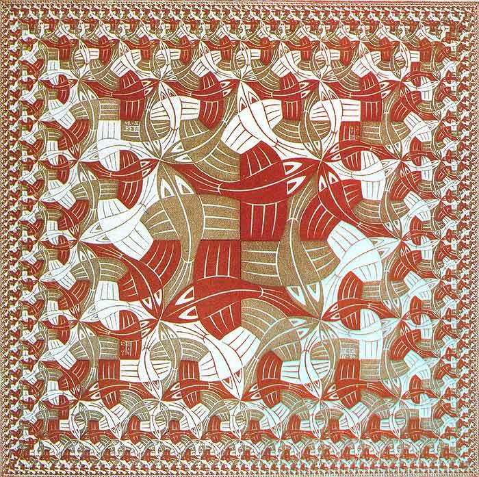 Escher-Limiti del quadrato