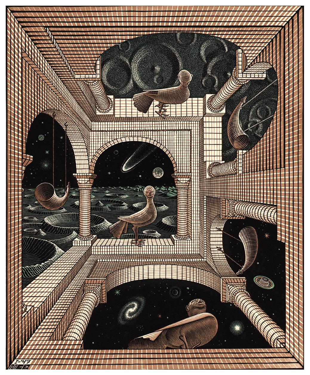 Escher-other-world-1947