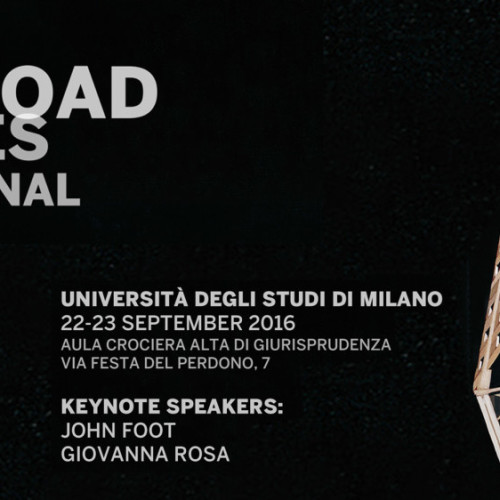 Milan Crossroad of Cultures - International conference