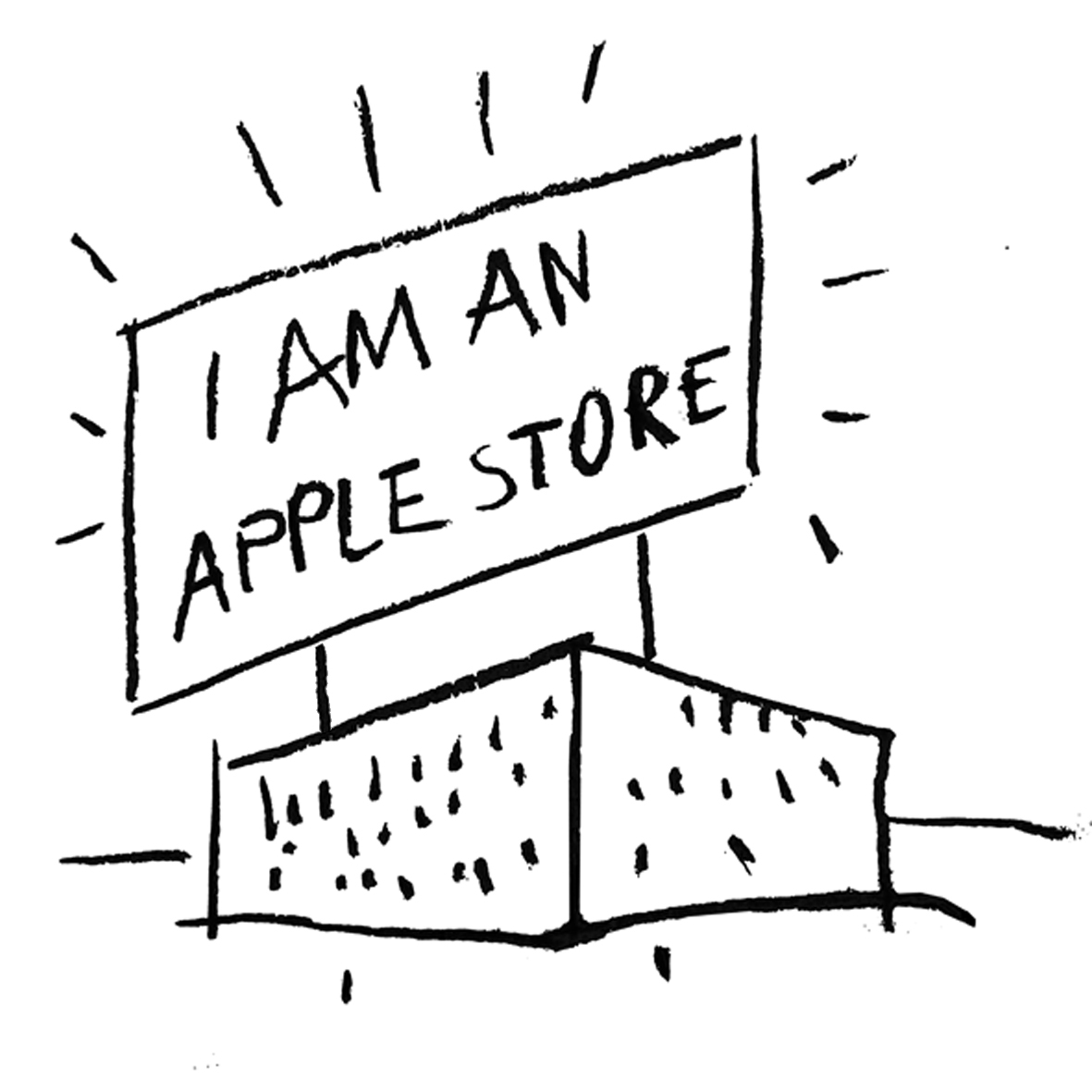 0 I AM AN APPLE STORE