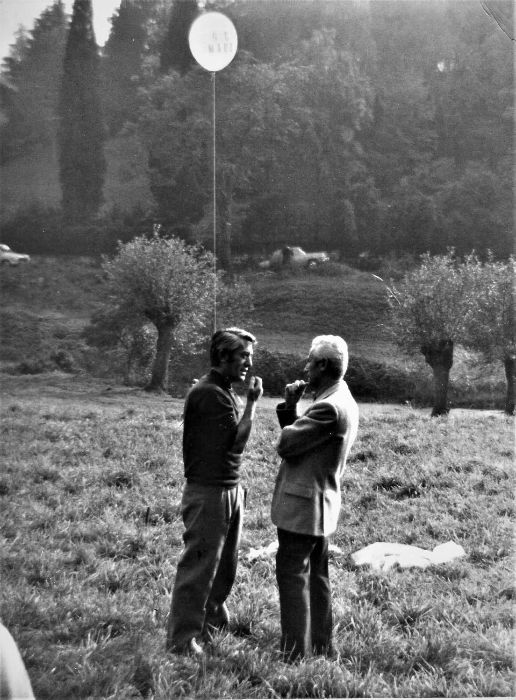 Gianfranco Brebbia e Bruno Munari