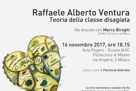 ZONA DISAGIO | RAFFAELE ALBERTO VENTURA