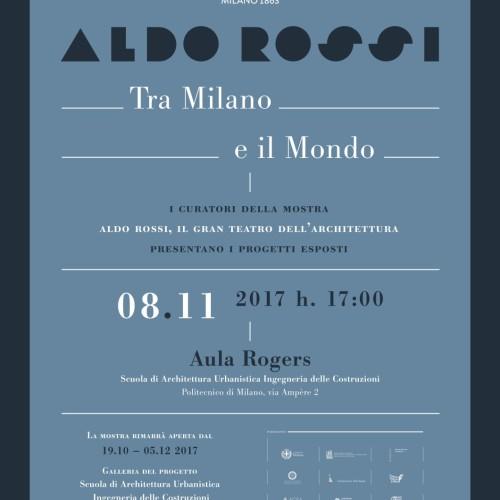 Aldo Rossi Tra Milano e il Mondo